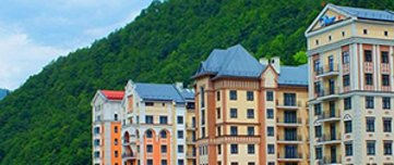 Valset Apartments by HELIOPARK Rosa Khutor