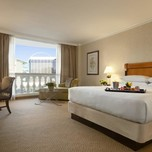 """Roman Tower Guest Room, Caesar""""s Palace Hotel"""