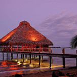 Baula_on_the_Sea_restaurant_at_Dusk