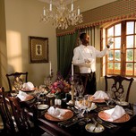 Presidential suite- Dining Room