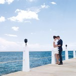 Couple on jetty_0