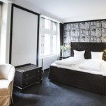 First Hotel Kong Frederik Deluxe Double Room Library style  - 2