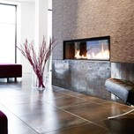 Scandic Front Hotel Fireplace Lobby