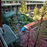 Woods Courtyard View Room, Disney's Grand Californian Hotel & Spa