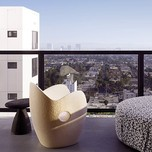 Balcony Suite, Mondrian Los Angeles Hotel