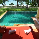 Beach Front Pool Villa4