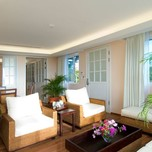 Living area of Suites at Gaia