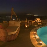 SUITES OF THE GODS Night Pool View