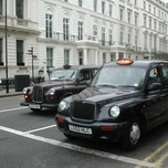 London Cabs - Old & New