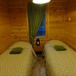 Kukkap cottage sleeping room