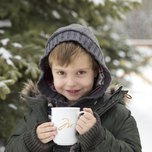 MDV Child with Hot Chocolate