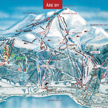 Åre By map