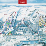 Åre Duved map